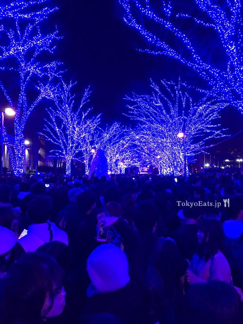 Aono dokutsu Shibuya -- 青の洞窟渋谷